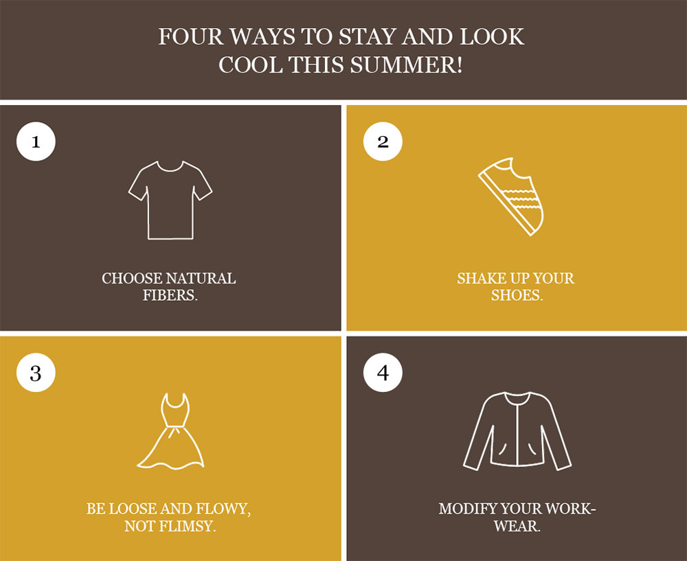 Don't Sweat It. Four Ways To Stay And Look Cool This Summer!